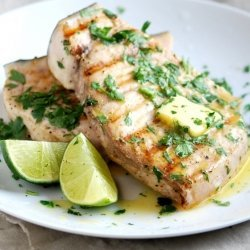 Grilled Swordfish Verde