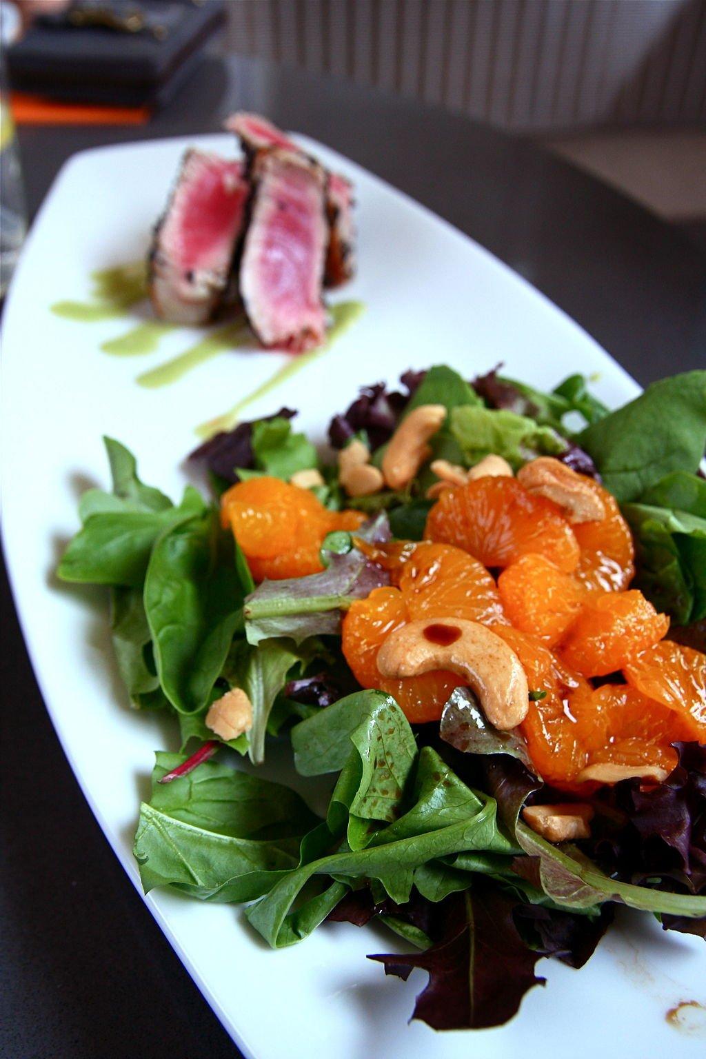 Chinese Chicken Salad with Mandarins