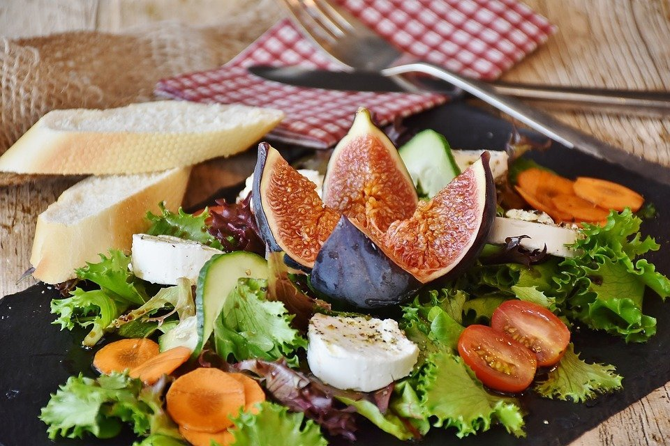 Carrot & Radicchio Salad with Fig Balsamic Vinaigrette