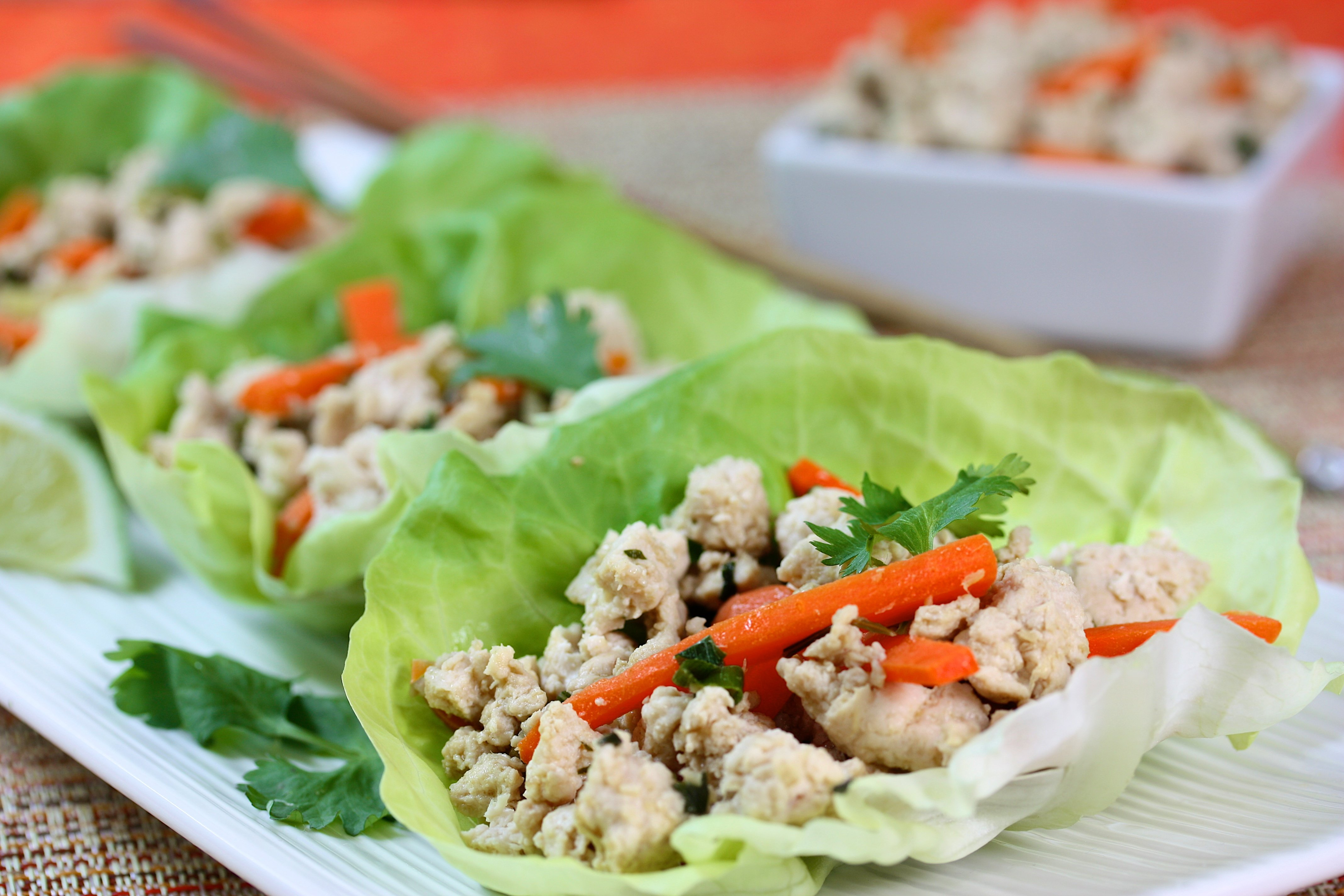 BBQ Pulled Jack Fruit Lettuce Wraps