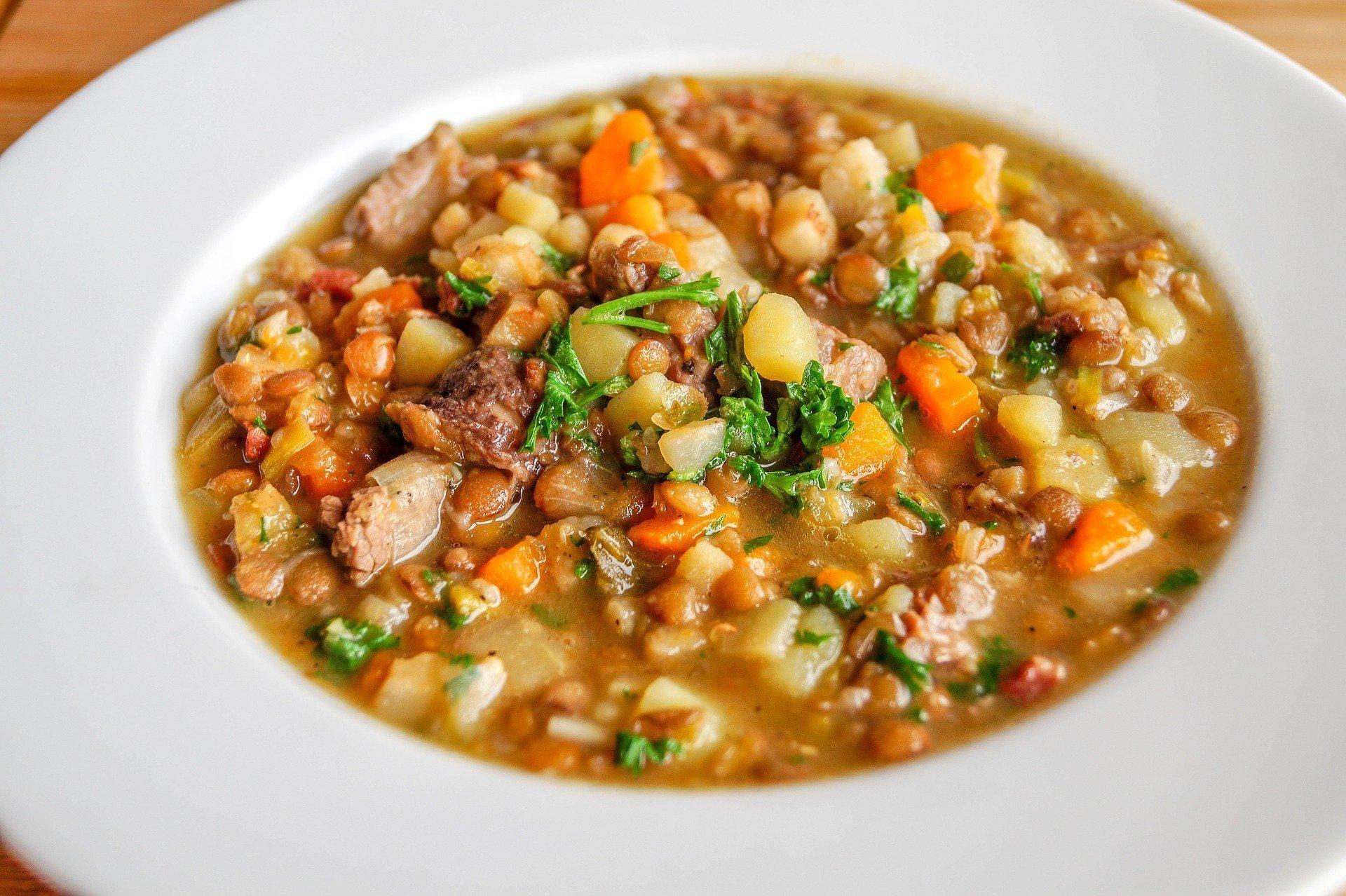 1-Pot Lentil Soup