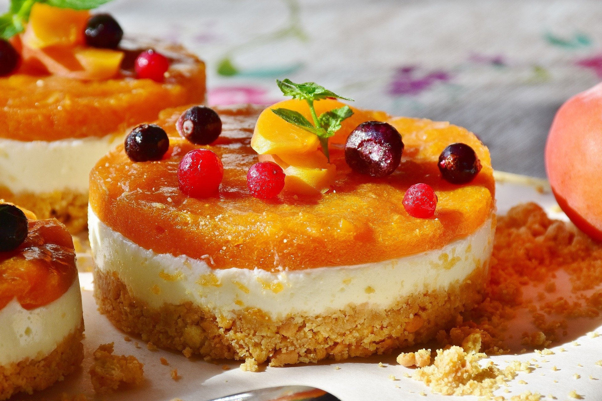 Vegan Mandarin Orange Tarts